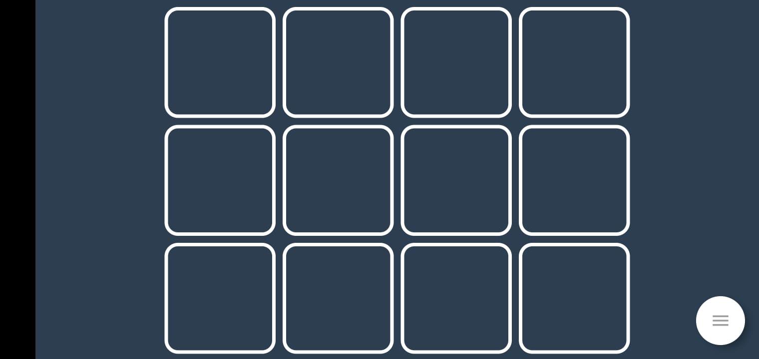 Tela do Deckboard no celular